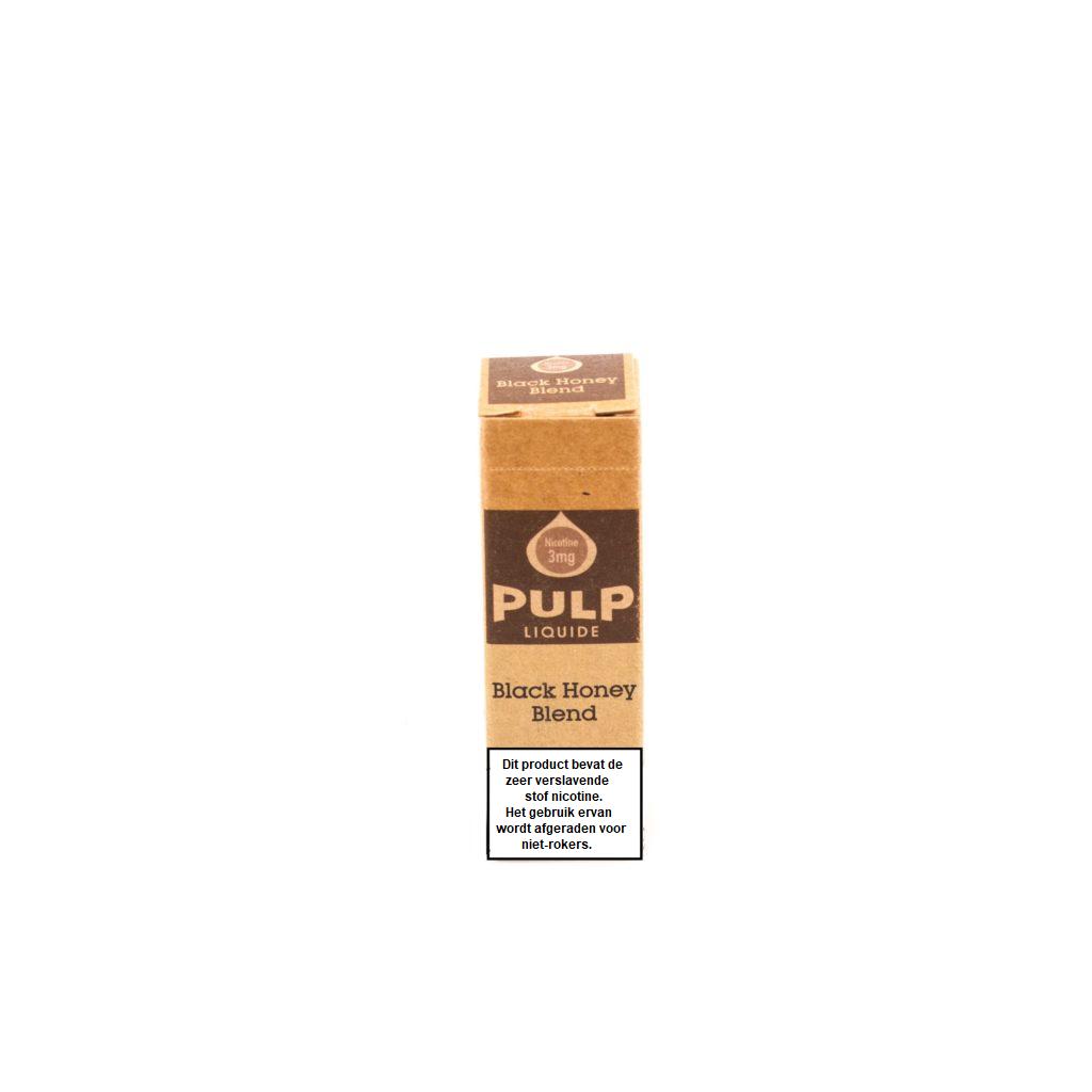 PULP Black Honey Blend e-liquid is een mix van tabak. Deze e-liquid heeft een 70%PG/30%VG verhouding. HIj wordt geproduceerd in Frankrijk en verkocht in 10ml flesjes.