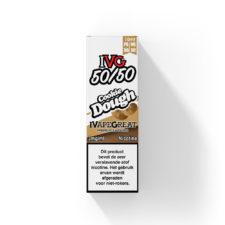 IVG Cookie Dough smaakt naar zoete koekjesdeeg. Deze e-liquid uit het Verenigd Koninkrijk heeft een 50%PG/50%VG verhouding. U kunt deze smaak bestellen in 10ml flesjes en verschillende sterktes (freebase) nicotine.