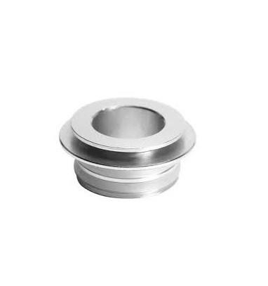 Met deze 510/810 drip tip adapter kunt u 510 drip tips gebruiken op verdampers met een 810 drip tip aansluiting.
