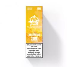 Mango Nic-Salt van Anarchist E-liquids is de Nicotine salts versie van hun mango e-liquid. U kunt deze 50PG/50VG e-liquid in 10ml flesjes bestellen. U kunt kiezen uit 10- en 20mg/ml Nicotine Salts.