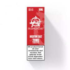 Red Nic-Salt van Anarchist E-liquids smaakt naar een zoete aardbei snoepje. U kunt deze 50PG/50VG e-liquid in 10ml flesjes bestellen. U kunt kiezen uit 10- en 20mg/ml Nicotine Salts.