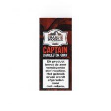 Charlie Noble Captain Charleston Gray e-liquid heeft de smaak van watermeloen. Deze High VG vloeistof uit de Verenigde Staten is verkrijgbaar in 10ml flesjes met verschillende nicotine sterktes.