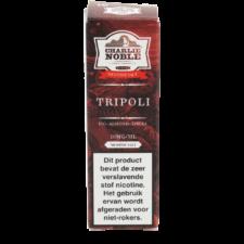 Charlie Noble Tripoli Nic Salt is een mix van tabak, vijgen, amandelen. Deze 50/50 e-liquid met nicotine komt in 10ml flesjes met verschillende nic salt sterktes.