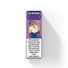 El Patron El Diablo is een mix van lychee en eucalyptus. Deze Nederlandse e-liquid komt in 10ml flesjes met verschillende nicotine sterktes.