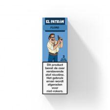 El Patron Plomo is een mix van perzik en limoen. Deze Nederlandse e-liquid is verkrijgbaar in 10ml flesjes met verschillende nicotine sterktes.