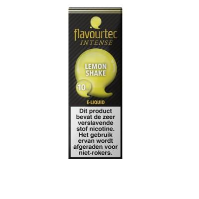 Flavourtec Intense Lemon Shake is een citroen milkshake smaak. Deze 50%PG/50%VG e-liquid wordt geproduceerd in Polen. Verkocht in 10ml flesjes met of zonder nicotine.