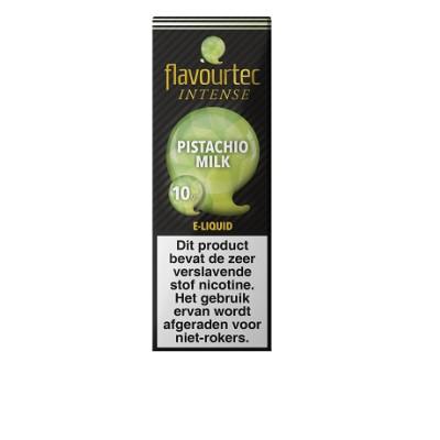 Flavourtec Intense Pistachio milk is een pistache milkshake. Deze 50%PG/50%VG e-liquid wordt geproduceerd in Polen.