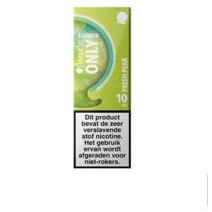 Flavourtec Only Fresh Pear is een mix van peer, limoen en menthol. Deze 50%PG/50%VG e-liquid wordt geproduceerd in Polen.