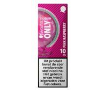 Flavourtec Only Pink Raspberry is een mix van van framboos, roze limonade, rode vruchten en menthol. Deze 50%PG/50%VG e-liquid wordt geproduceerd in Polen.