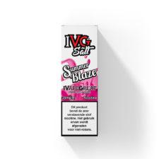 IVG Salt Summer Blaze smaakt naar bessen limonade. Deze e-liquid uit het Verenigd Koninkrijk heeft een 50%PG/50%VG verhouding. U kunt hem bestellen in 10ml flesjes met 20mg/ml Nic-Salts.