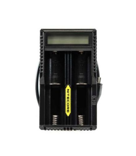 De Nitecore UM20 is een oplader voor twee 18650 batterijen met MicroUSB aansluiting. U heeft de mogelijkheid om twee batterijen en een mobiele telefoon op te laden.