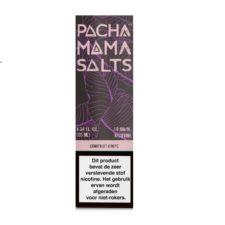 Pacha Mama Salts Starfruit Grape smaakt naar druiven en sterrenvrucht. Deze Amerikaanse e-liquid heeft een 45%PG/55%VG verhouding. Hij wordt verkocht in 10ml flesjes. U kunt kiezen uit 10mg/ml en 20mg/ml Nicotine Salts.