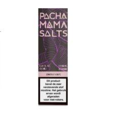 Pachamama Strawberry Watermelon smaakt naar aardbeien en watermeloen. Deze Amerikaanse kant en klare e-liquid heeft een PG/VG verhouding van 45%PG/55%VG. Verkrijgbaar met Nicotine Salts (10mg/ml en 20mg/ml).