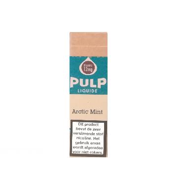 De Arctic Mint van PULP is een koude e-liquid met munt smaak. De PG/VG verhouding is 70%/30%. Deze e-liquid wordt geproduceerd in Frankrijk.