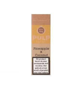 PULP Pineapple & Coconut is een combinatie van ananas en kokosnoot. De PG/VG verhouding is 70%/30%. U kunt deze Franse e-liquid in 10ml flesjes bestellen.