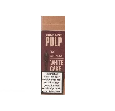 PULP White Cake is een vanille cake. De PG/VG verhouding is 50%/50%. Deze e-liquid wordt geproduceerd in Frankrijk.