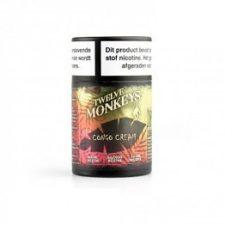 Twelve Monkeys Congo Cream is een mix van vanille en aardbei. Deze Canadese e-liquid heeft een PG/VG verhouding van 30%PG/70%VG.