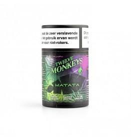 Twelve Monkeys Matata is een mix van druiven en zoete rode appels. Deze Canadese e-liquid heeft een PG/VG verhouding van 20%PG/80%VG.