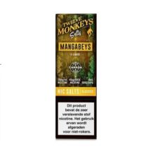 Twelve Monkeys Salts Mangabeys is een tropische smaak, een cocktail van ananas, guave en mango. Hij wordt gemaakt in Canada. U kunt deze 50PG/50VG e-liquid in 10ml flesjes bestellen. De nicotine sterkte is 20mg/ml Nicotine Salts.