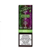 welve Monkeys Salts Matata is een mix van druiven en appels. U kunt deze 50PG/50VG e-liquid bestellen in 10ml flesjes met 20mg/ml NS.