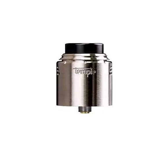 De Temple RDA van Vaperz cloud is een 25mm single coil Rebuildable Dripping Atomizer. Deze dripper wordt geleverd met een acrylic cap en squonk pin.