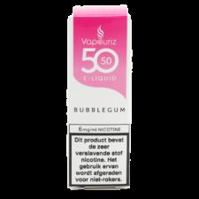 Vapouriz Bubblegum is een fruitige kauwgom smaak. Deze 50%PG/50%VG e-liquid wordt geproduceerd in het Verenigd Koninkrijk. U kunt deze smaak bestellen in 10ml flesjes met verschillende nicotine sterktes.