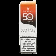 Vapouriz Caramel Macchiato is een koffie met karamel en melkschuim. Deze 50%PG/50%VG e-liquid wordt geproduceerd in het Verenigd Koninkrijk. U kunt deze smaak bestellen in 10ml flesjes met verschillende nicotine sterktes.