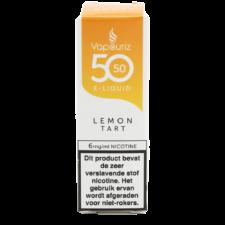 Vapouriz Lemon Tart is een taart smaak met citroen. Deze 50%PG/50%VG e-liquid wordt geproduceerd in het Verenigd Koninkrijk. U kunt deze smaak bestellen in 10ml flesjes met verschillende nicotine sterktes.