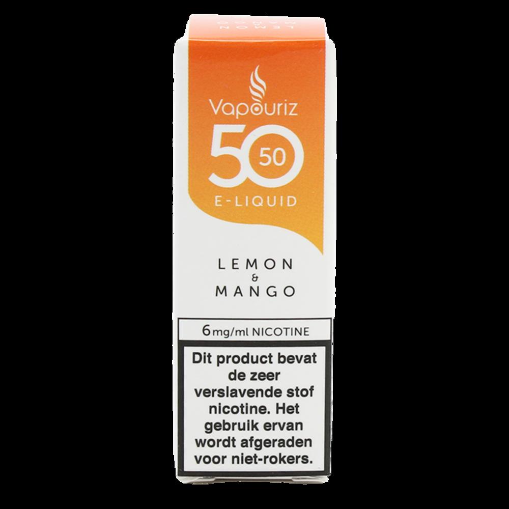 Vapouriz Mango Lemon is een cocktail van mango en citroen. Deze 50%PG/50%VG e-liquid wordt geproduceerd in het Verenigd Koninkrijk. U kunt deze smaak bestellen in 10ml flesjes met verschillende nicotine sterktes.