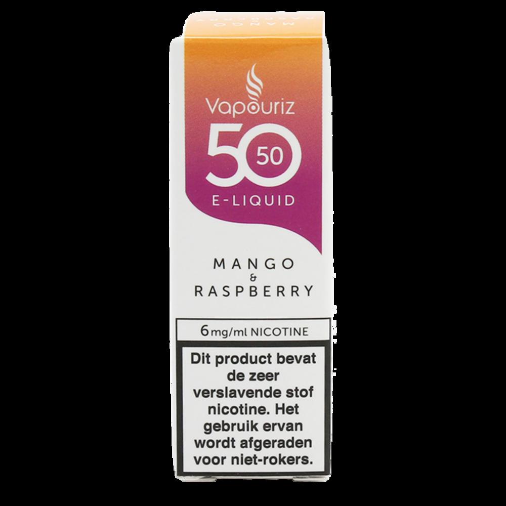Vapouriz Mango Raspberry is een cocktail van mango en frambozen. Deze 50%PG/50%VG e-liquid wordt geproduceerd in het Verenigd Koninkrijk. U kunt deze smaak bestellen in 10ml flesjes met verschillende nicotine sterktes.