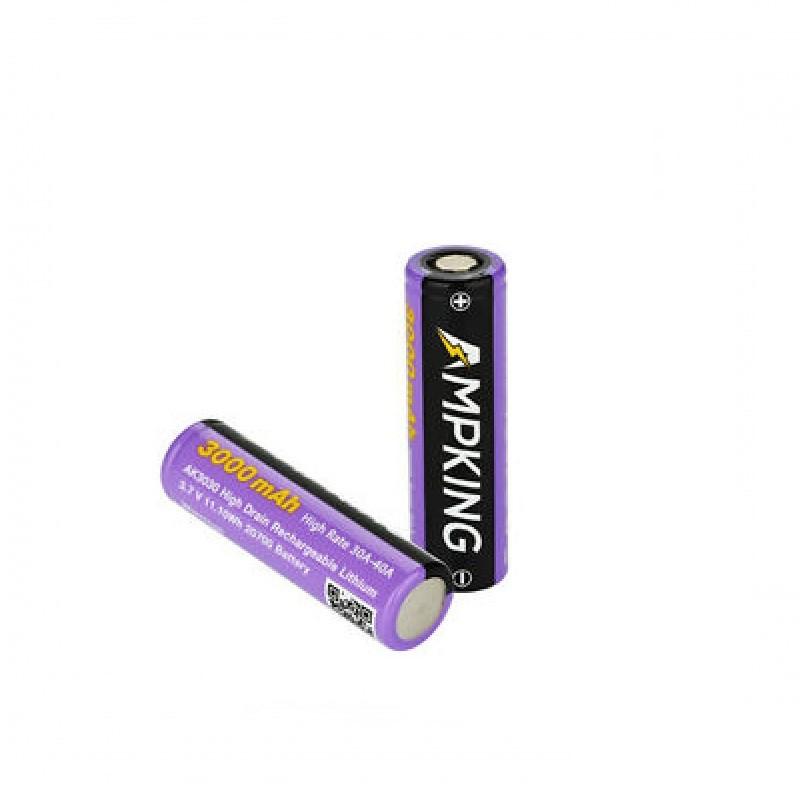 Flat top batterij met vermogen van 3800mAh en rating van 20A.