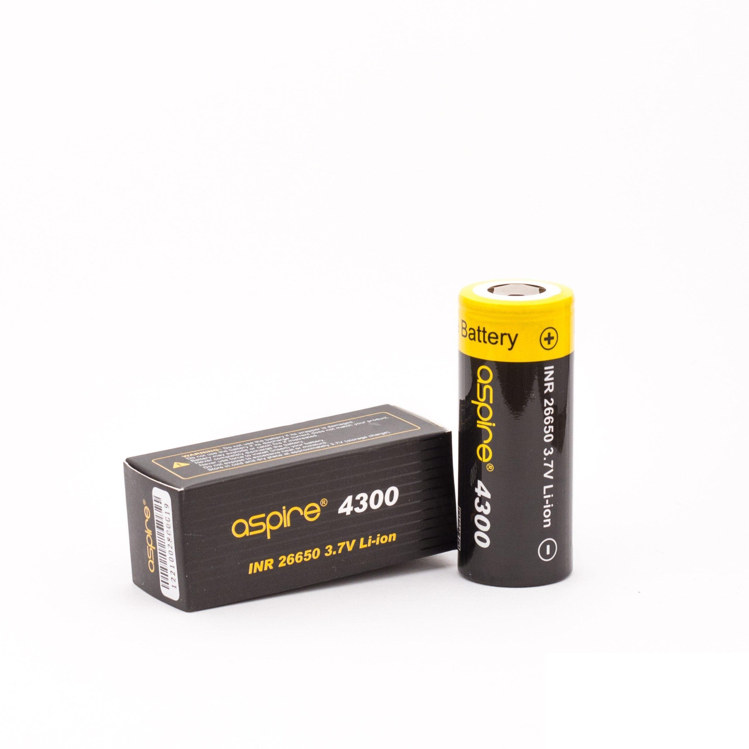 Flat top batterij met vermogen van 4200mAh en rating van 20A.