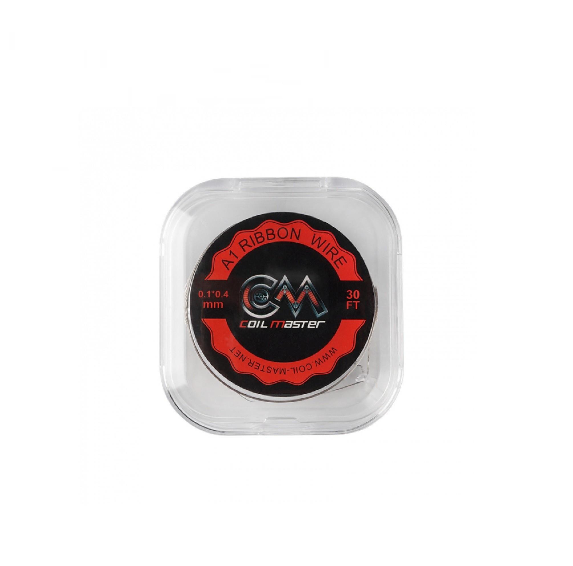Coil Master Ribbon draad is verkocht per rolletjes van 30ft (9m). Ribbon draad zorgt voor een grotere oppervlakte.