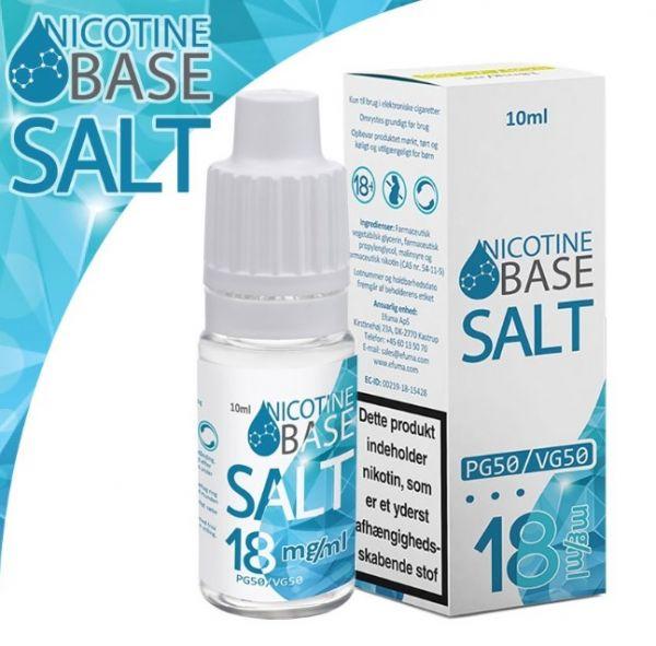 Nicotine Base Nic Salt is een base met nicotine zout uit Denemarken. Deze base wordt verkocht in 10ml flesjes met 18mg/ml nicotine Nic Salt.