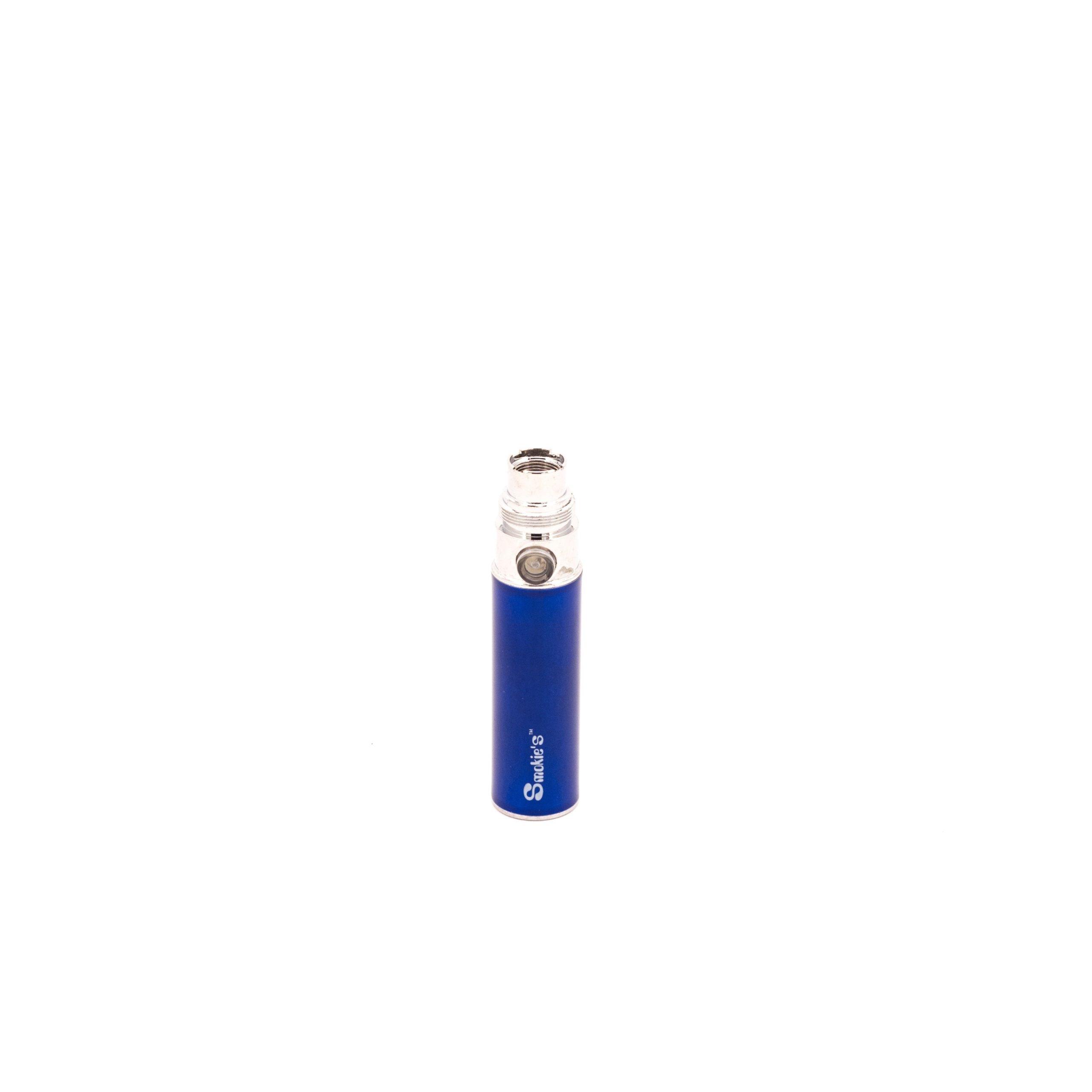 eGo 400mAh batterij met eGo en 510 aansluiting. Dze batterijen zijn beveiligd tegen kortsluiting en ontlading en gaan aan en uit doormiddel van 5 keer te klikken.