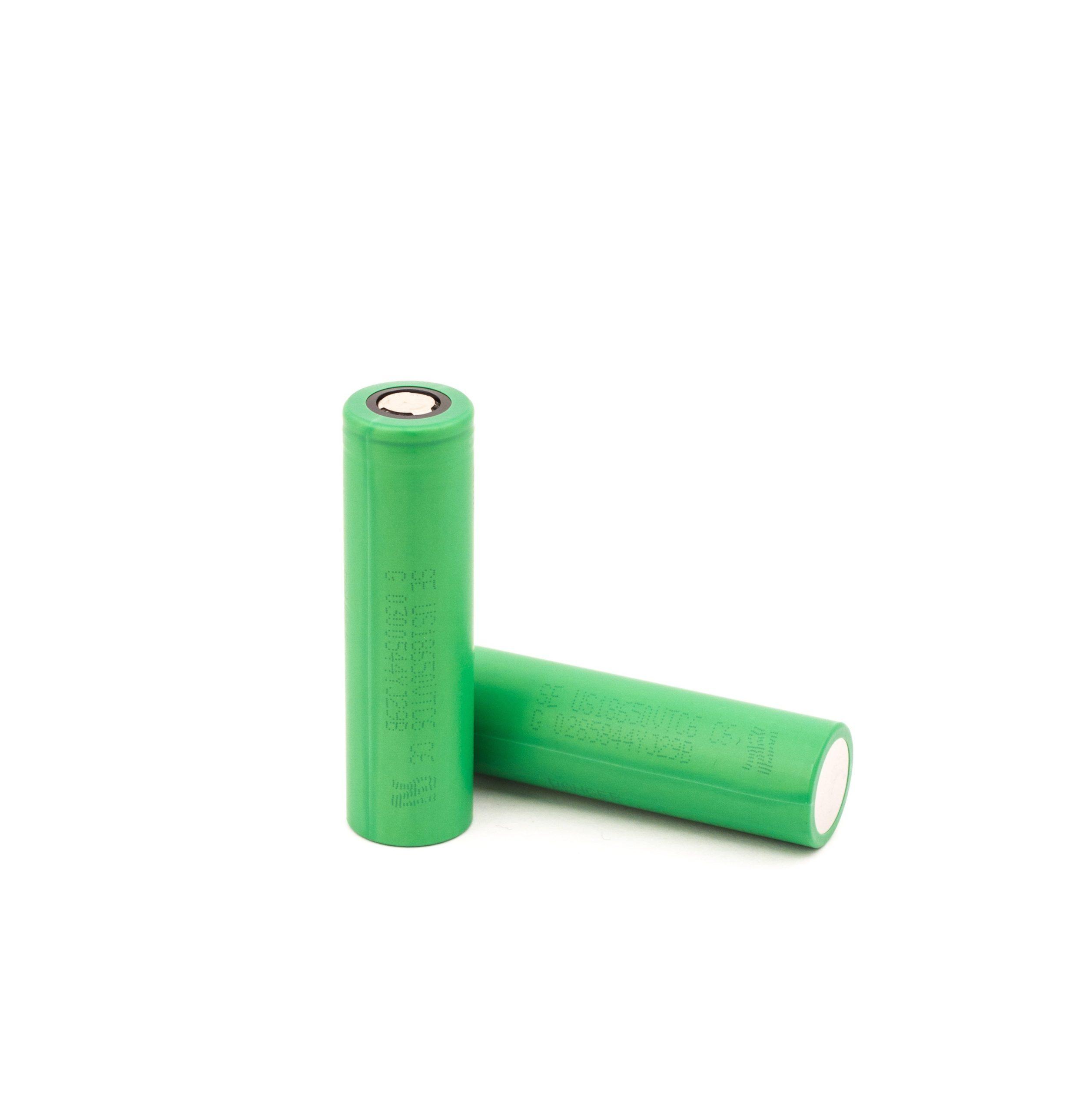 Flat top batterij met vermogen van 3120mAh en rating van 30A.
