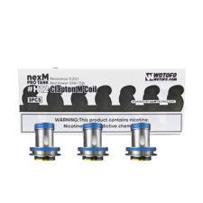 Deze coils zijn geschikt voor de Wotofo NexMesh Pro Sub Ohm Tank. Ze worden verkocht per 3 stuks. U kunt kiezen uit drie soorten