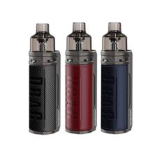 De Drag S is een pod kit van het merk VooPoo. Deze starter-set heeft een batterij met 2500mAh. U kunt uw eigen e-liquid gebruiken. Geleverd met twee PnP coils en oplaadkabel.